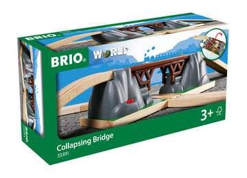 63339100 BRIO Eisenbahn Einsturzbrücke von Ravensburger 1