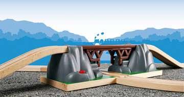 63339100 BRIO Eisenbahn Einsturzbrücke von Ravensburger 3