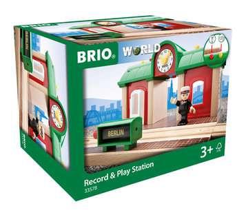 63357800 BRIO Eisenbahn Sprechender Bahnhof von Ravensburger 1