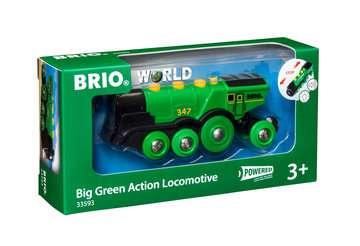 63359300 BRIO Eisenbahn Grüner Gustav Batterielok von Ravensburger 1