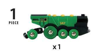 63359300 BRIO Eisenbahn Grüner Gustav Batterielok von Ravensburger 8