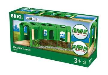 63370900 BRIO Eisenbahn Flexibler Tunnel von Ravensburger 1