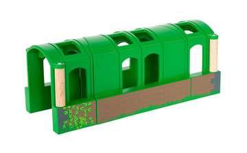 63370900 BRIO Eisenbahn Flexibler Tunnel von Ravensburger 2