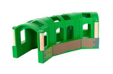 63370900 BRIO Eisenbahn Flexibler Tunnel von Ravensburger 4