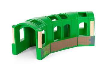 63370900 BRIO Eisenbahn Flexibler Tunnel von Ravensburger 5