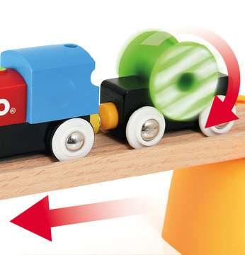 63371000 BRIO Eisenbahn Mein erstes BRIO Bahn Set mit Batterielok von Ravensburger 8