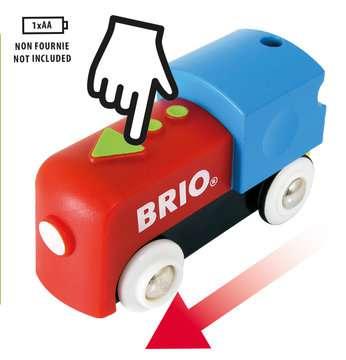 63371000 BRIO Eisenbahn Mein erstes BRIO Bahn Set mit Batterielok von Ravensburger 10