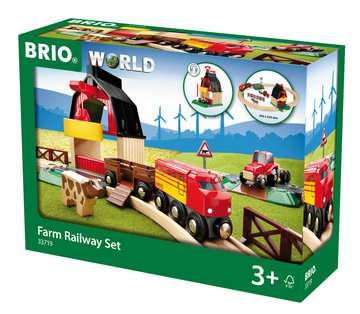 63371900 BRIO Eisenbahn BRIO Bahn Bauernhof Set von Ravensburger 1