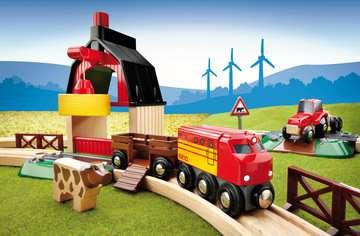63371900 BRIO Eisenbahn BRIO Bahn Bauernhof Set von Ravensburger 10