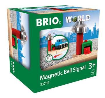 63375400 BRIO Eisenbahn Magnetisches Glockensignal von Ravensburger 1