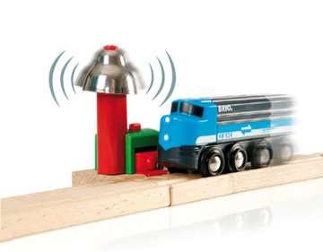 63375400 BRIO Eisenbahn Magnetisches Glockensignal von Ravensburger 4
