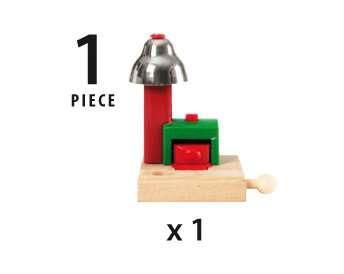 63375400 BRIO Eisenbahn Magnetisches Glockensignal von Ravensburger 5
