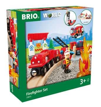 63381500 BRIO Eisenbahn BRIO Bahn Feuerwehr Set  TV Artikel von Ravensburger 1