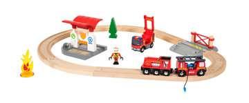 63381500 BRIO Eisenbahn BRIO Bahn Feuerwehr Set  TV Artikel von Ravensburger 2