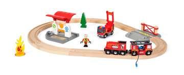63381500 BRIO Eisenbahn BRIO Bahn Feuerwehr Set  TV Artikel von Ravensburger 3
