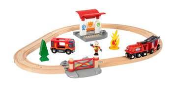 63381500 BRIO Eisenbahn BRIO Bahn Feuerwehr Set  TV Artikel von Ravensburger 4