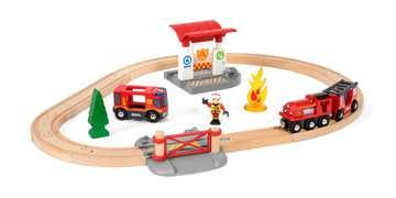 63381500 BRIO Eisenbahn BRIO Bahn Feuerwehr Set  TV Artikel von Ravensburger 5