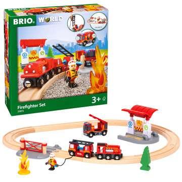 63381500 BRIO Eisenbahn BRIO Bahn Feuerwehr Set  TV Artikel von Ravensburger 6