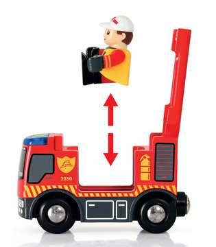 63381500 BRIO Eisenbahn BRIO Bahn Feuerwehr Set  TV Artikel von Ravensburger 8