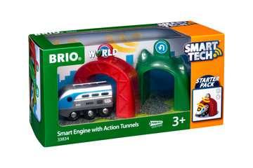 63383400 Brio Eisenbahn Smart Tech Zug mit Action Tunnels von Ravensburger 1