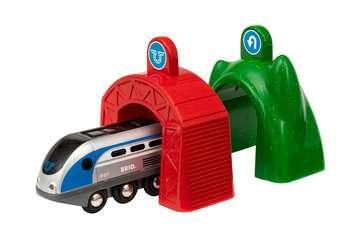 63383400 Brio Eisenbahn Smart Tech Zug mit Action Tunnels von Ravensburger 2