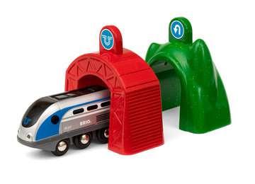 63383400 Brio Eisenbahn Smart Tech Zug mit Action Tunnels von Ravensburger 3