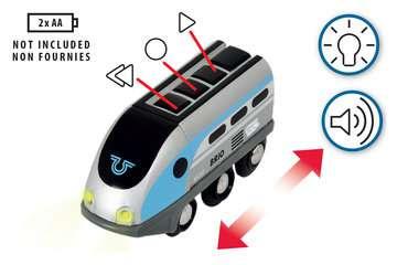63383400 Brio Eisenbahn Smart Tech Zug mit Action Tunnels von Ravensburger 4