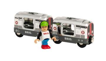63383800 BRIO Eisenbahn Silberne U-Bahn (Special Edition 2020) von Ravensburger 2