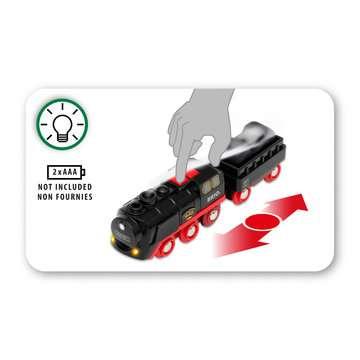 Locomotive à piles à vapeur BRIO;BRIO Trains - Image 6 - Ravensburger