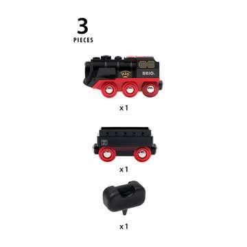 Locomotive à piles à vapeur BRIO;BRIO Trains - Image 9 - Ravensburger