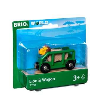 63396600 BRIO Eisenbahn Tierwaggon Löwe von Ravensburger 1