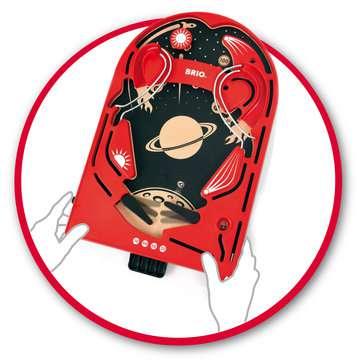 63401700 BRIO Spiele Holz-Flipper Space Safari von Ravensburger 9