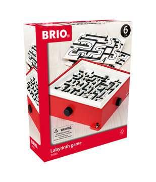 63402000 BRIO Spiele Labyrinth mit Übungsplatten, rot von Ravensburger 1
