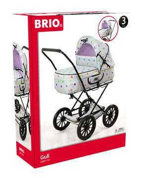 63891159 Rollenspielzeug BRIO Puppenwagen Klassik, grau mit Punkten von Ravensburger 1