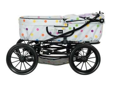 63891159 Rollenspielzeug BRIO Puppenwagen Klassik, grau mit Punkten von Ravensburger 4