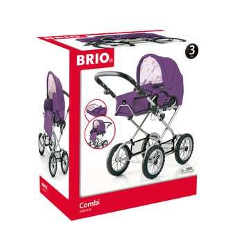 63891310 Rollenspielzeug BRIO Puppenwagen Combi, violett von Ravensburger 1