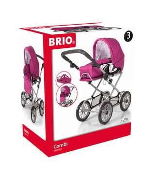 63891314 Rollenspielzeug BRIO Puppenwagen Combi, Rose von Ravensburger 1