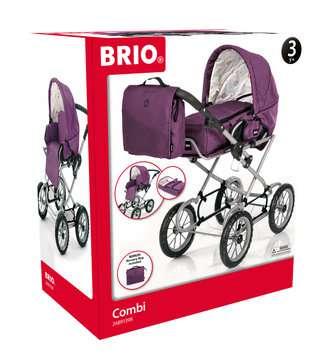 63891398 Rollenspielzeug BRIO Puppenwagen Premium Combi, violett (incl. Tasche) von Ravensburger 1