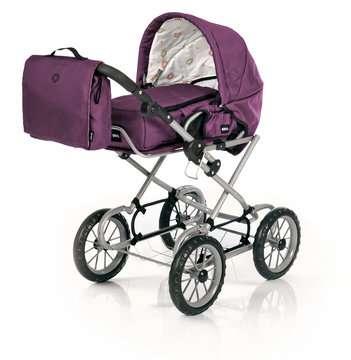63891398 Rollenspielzeug BRIO Puppenwagen Premium Combi, violett (incl. Tasche) von Ravensburger 2