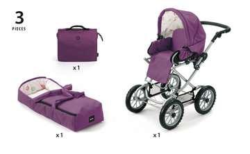 63891398 Rollenspielzeug BRIO Puppenwagen Premium Combi, violett (incl. Tasche) von Ravensburger 6
