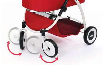 63900000 Rollenspielzeug Puppenwagen Spin rot von Ravensburger 8