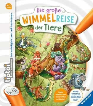 65884 tiptoi® tiptoi® Die große Wimmelreise der Tiere von Ravensburger 1