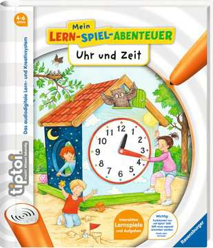 65885 tiptoi® tiptoi® Uhr und Zeit von Ravensburger 2