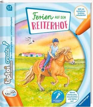 65886 tiptoi® tiptoi® CREATE Ferien auf dem Reiterhof von Ravensburger 2