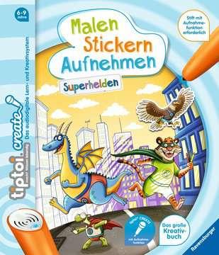 65887 tiptoi® tiptoi® CREATE Malen Stickern Aufnehmen: Superhelden von Ravensburger 1