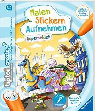 65887 tiptoi® tiptoi® CREATE Malen Stickern Aufnehmen: Superhelden von Ravensburger 2