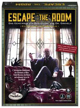 76310 Escape the Room Escape the Room - Das Geheimnis des Refugiums von Dr. Gravely von Ravensburger 1