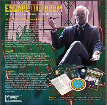 Escape the Room - Le secret de la Retraite du Dr Gravely (F) ThinkFun;Escape the Room - Image 2 - Ravensburger