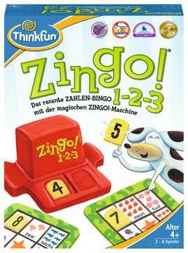 76352 Kinderspiele Zingo® 1-2-3 von Ravensburger 1