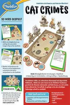 76366 Logikspiele Cat Crimes™ von Ravensburger 2